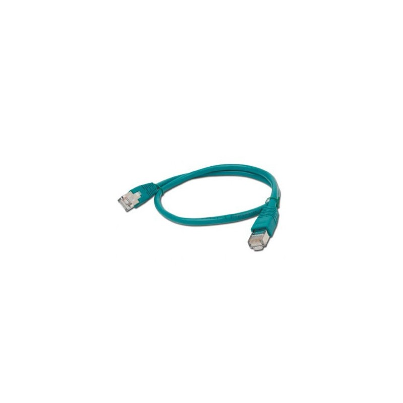 CABLE RED GEMBIRD FTP CAT6 0,5M VERDE
