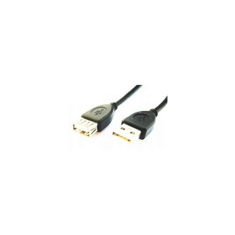 CABLE USB GEMBIRD EXTENSION USB 2.0 MACHO HEMBRA 1,8M