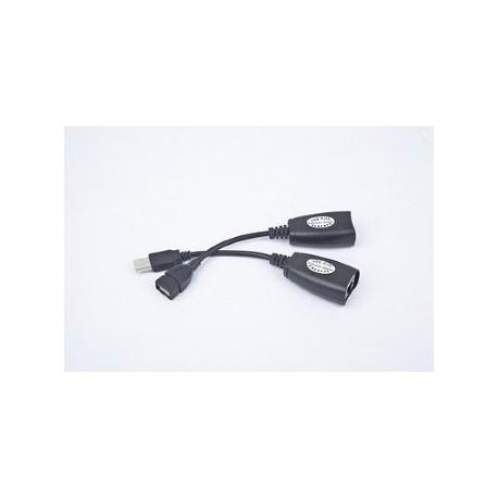 CABLE USB GEMBIRD KIT DE EXTENSION USB A TRAVES DE LAN HASTA 30M