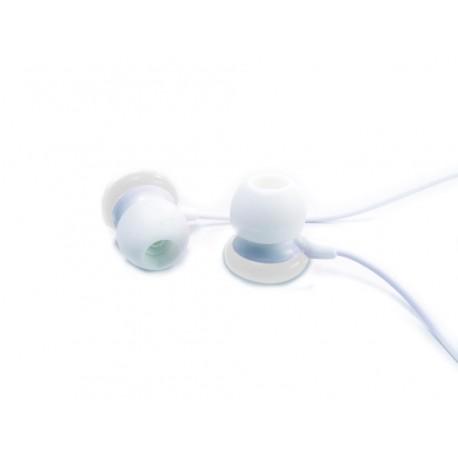 AURICULARES GEMBIRD EAR IN LACASITOS BLANCOS ALAMBRICO