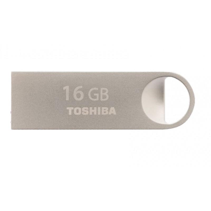 Toshiba TransMemory Mini-Metal 16GB 16GB USB 2.0 Capacity Plata unidad flash USB