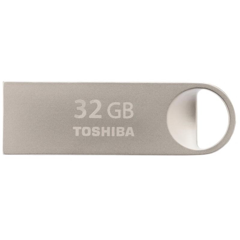 Toshiba TransMemory Mini-Metal 32GB 32GB USB 2.0 Capacity Plata unidad flash USB