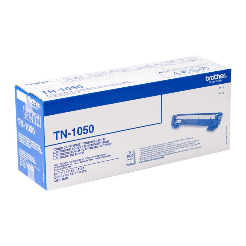 TONER BROTHER TN1050 NEGRO HL1110 1112 DCP1510 1512 MFC1910 1000PAG
