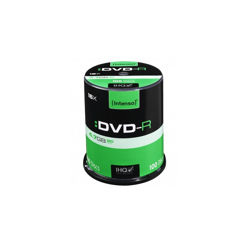 Intenso DVD-R 4.7GB 4.7GB DVD-R 100pieza(s)