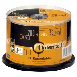 Intenso CD-R 700MB CD-R 700MB 50pieza(s)