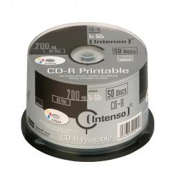Intenso CD-R 700MB / 80min printable CD-R 700MB 50pieza(s)