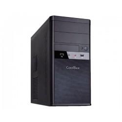 CAJA CAJCOOM55U3SF MICRO ATX 2x USB 3.0 S/FTE NEGRO