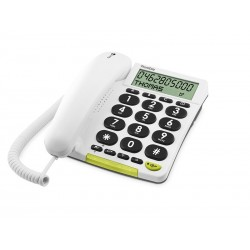 TELÉFONO FIJO DORO PHONE EASY 312CS 1 BLANCO