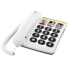 TELÉFONO FIJO DORO PHONE EASY 331PH 1 BLANCO