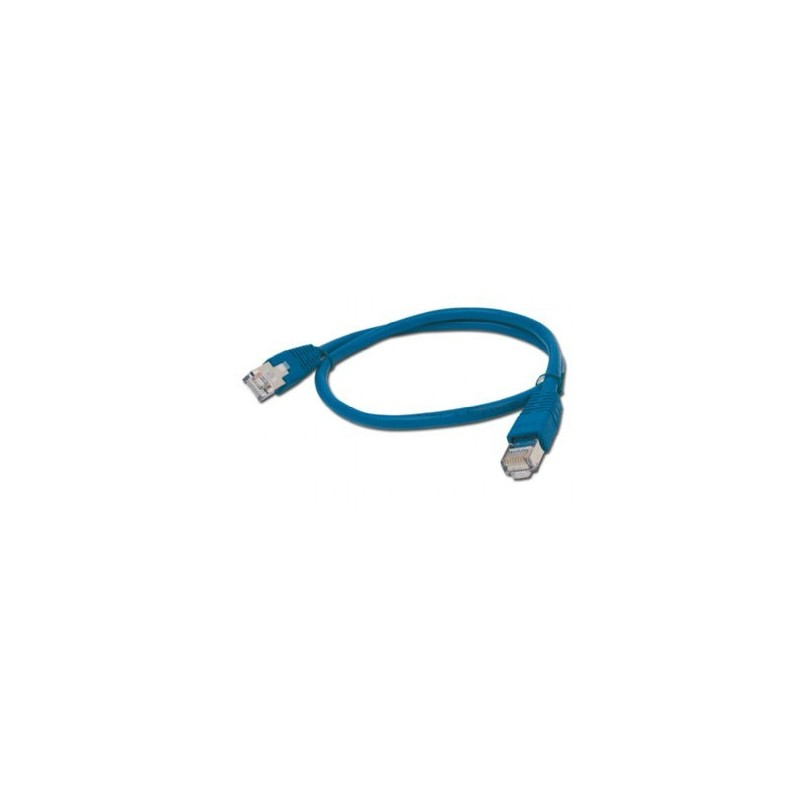 CABLE RED GEMBIRD FTP CAT6 0,5M AZUL