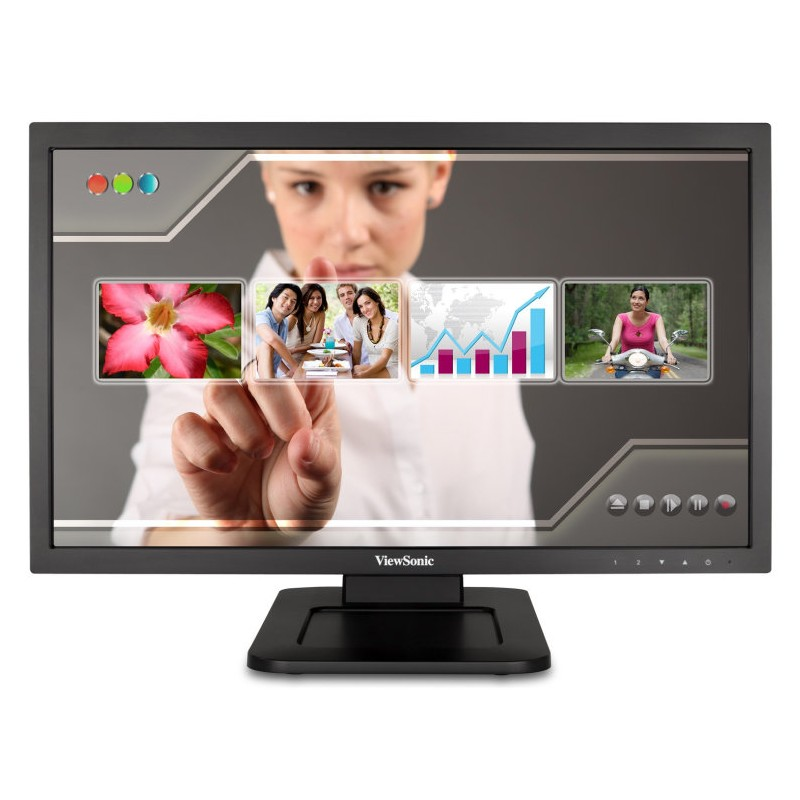 "MONITOR VIEWSONIC TD2220 21,5"" 1920x1080 5MS USB DVI ALTAVOCES TACTIL NEGRO"