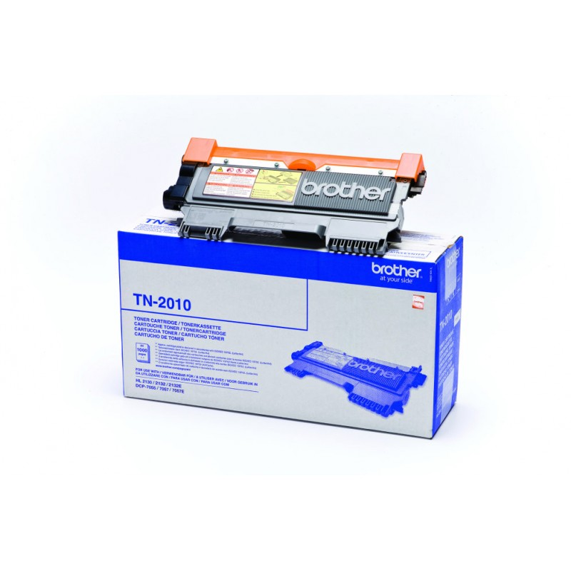 TONER BROTHER TN2010 NEGRO HL2130 21235W MFC DCP7055 1000PAG