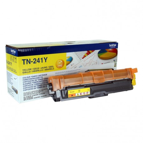 TINTA BROTHER TN241Y AMARILLO HL3140CW HL3150CDW 1400PAG