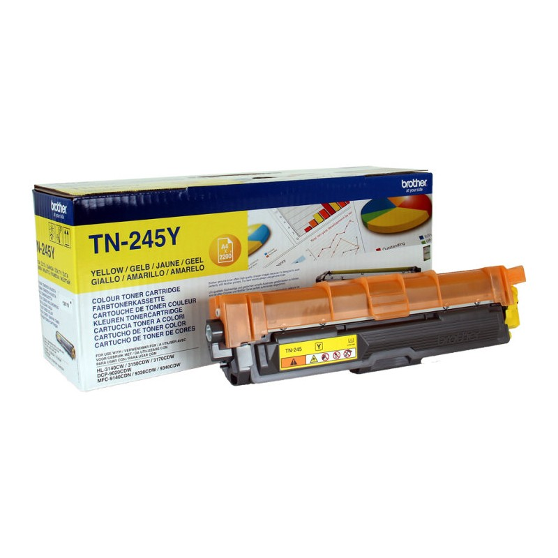 TONER BROTHER TN245Y AMARILLO  HL3140CW HL3150CDW   2200PAG