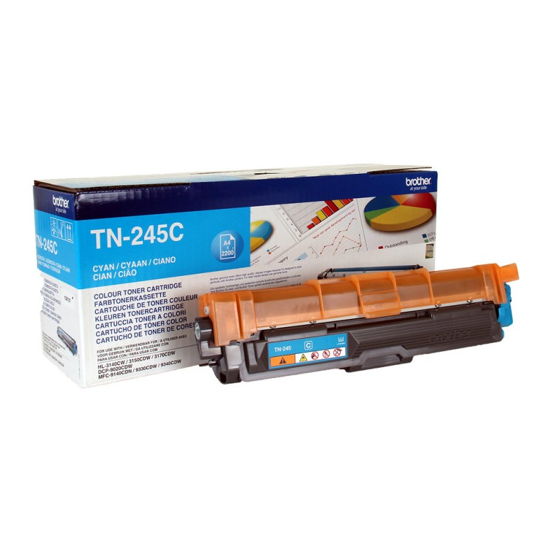 TONER BROTHER TN245C CIAN HL3140CW HL3150CDW 2200PAG