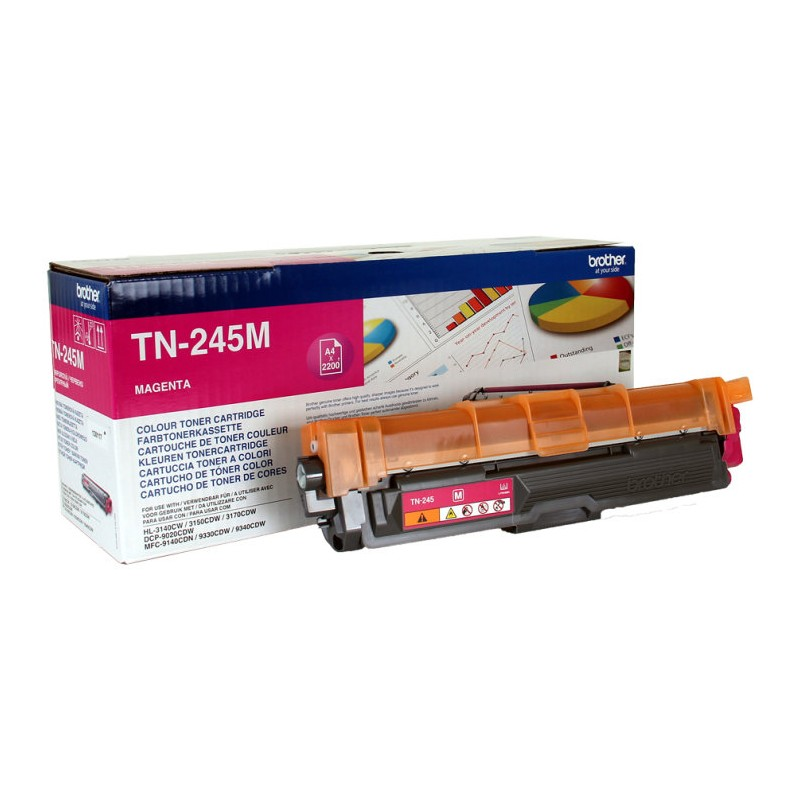 TONER BROTHER TN245M MAGENTA HL3140CW HL3150CDW 2200PAG
