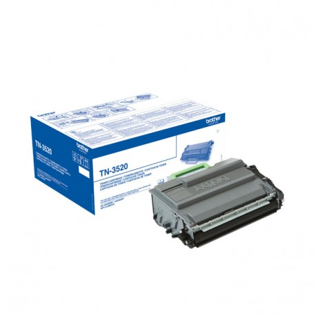 TONER BROTHER TN3520 NEGRO HLL6400DW 20000PAG