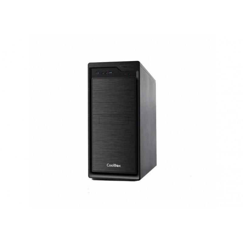 CAJA CAJCOOF800U3-0 ATX 2x USB 3.0 S/FTE NEGRO