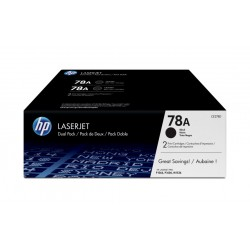 TONER HP 78A P1566  PACK 2