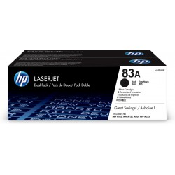 TONER HP 83A NEGRO M125 M127 M201 PACK 23000PAG