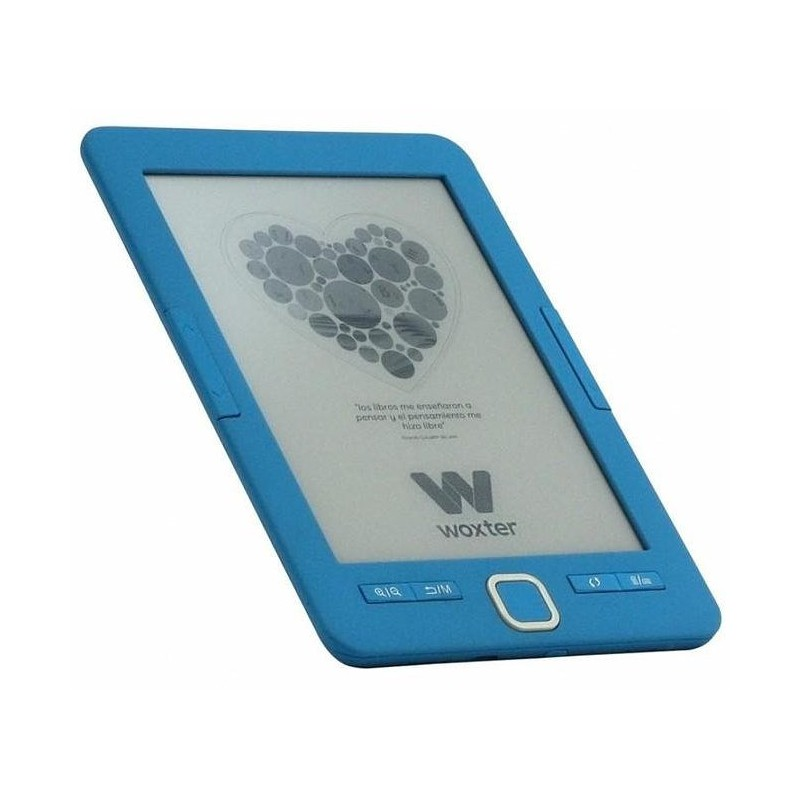 """Woxter Scriba 195 6"""" 4GB Azul lectore de e-book"""