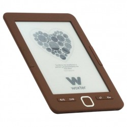 "Woxter Scriba 195 6"" 4GB Chocolate lectore de e-book"