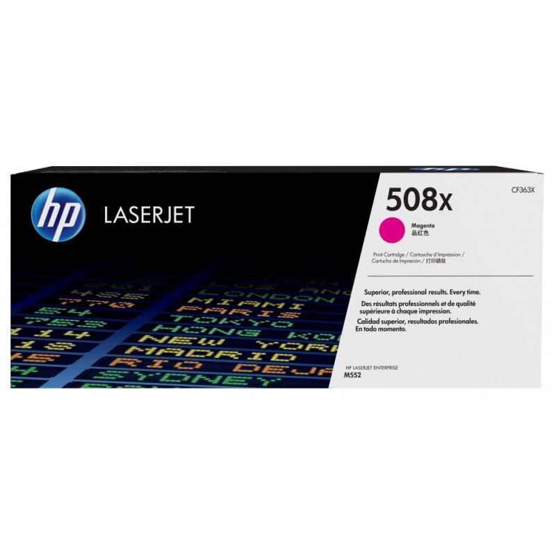 TONER HP 508X MAGENTA LASERJET M553 9500 PAG