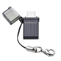 Intenso Mini Mobile Line, 8GB 8GB USB 2.0 Capacity Negro unidad flash USB