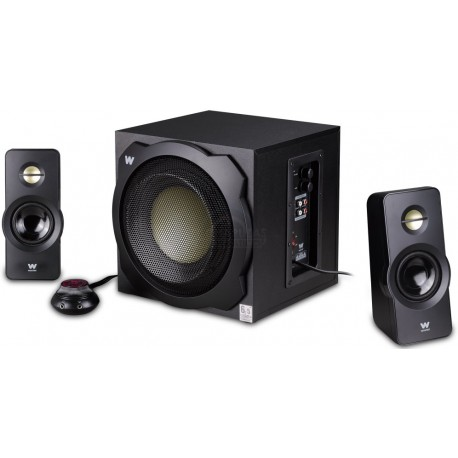 Woxter Big Bass 260 S 2.1channels 150W Negro conjunto de altavoces