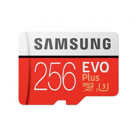 MICRO SD SAMSUNG EVO+ 256GB C10 C/ADPT R100/W90