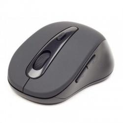 Gembird MUSWB2 Bluetooth Óptico 1600DPI mano derecha Negro, Gris ratón