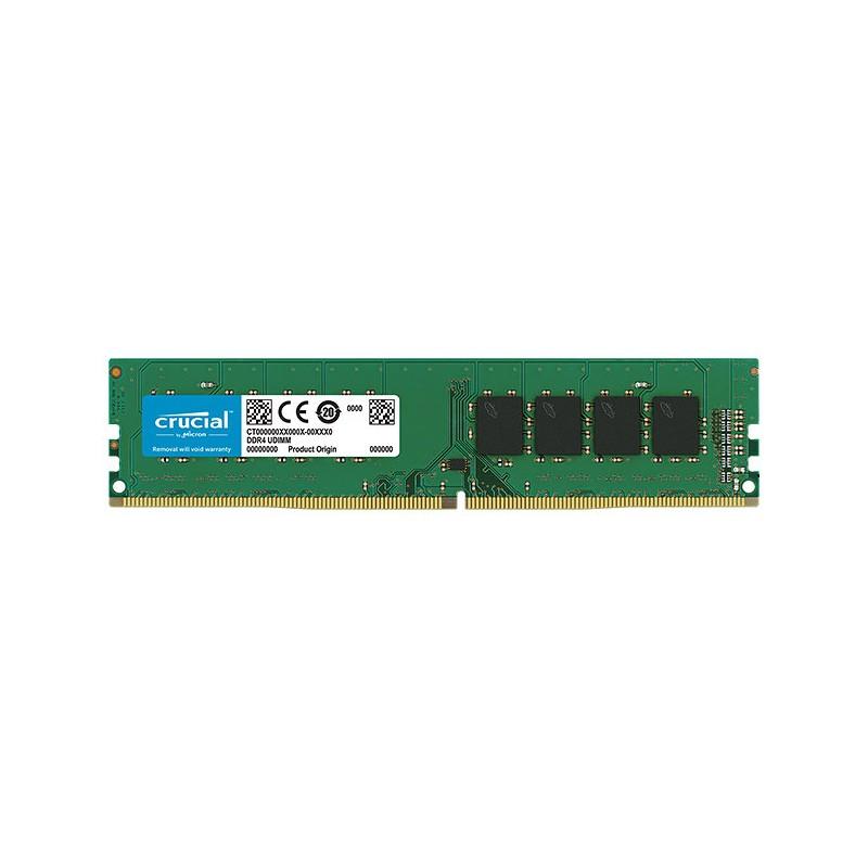 Crucial CT4G4DFS824A 4GB DDR4 2400MHz ECC módulo de memoria