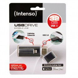 Intenso iMobile Line 32GB USB 2.0 Capacity Negro unidad flash USB