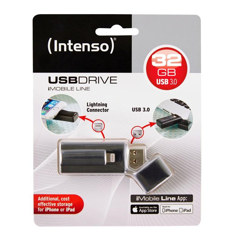 Intenso iMobile Line 32GB USB 2.0 Capacity Negro unidad flash USB