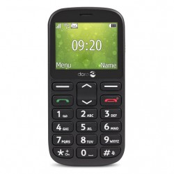 "TELÉFONO MÓVIL SENIOR DORO 1361 2,4"" NEGRO T2MPX"