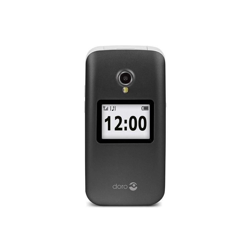 "TELÉFONO MÓVIL SENIOR DORO 2424 2,4"" GRIS T3MPX"