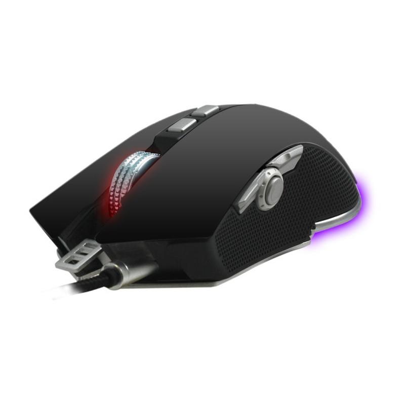 Woxter Stinger RX1500 m USB Laser 4000DPI mano derecha Negro ratón
