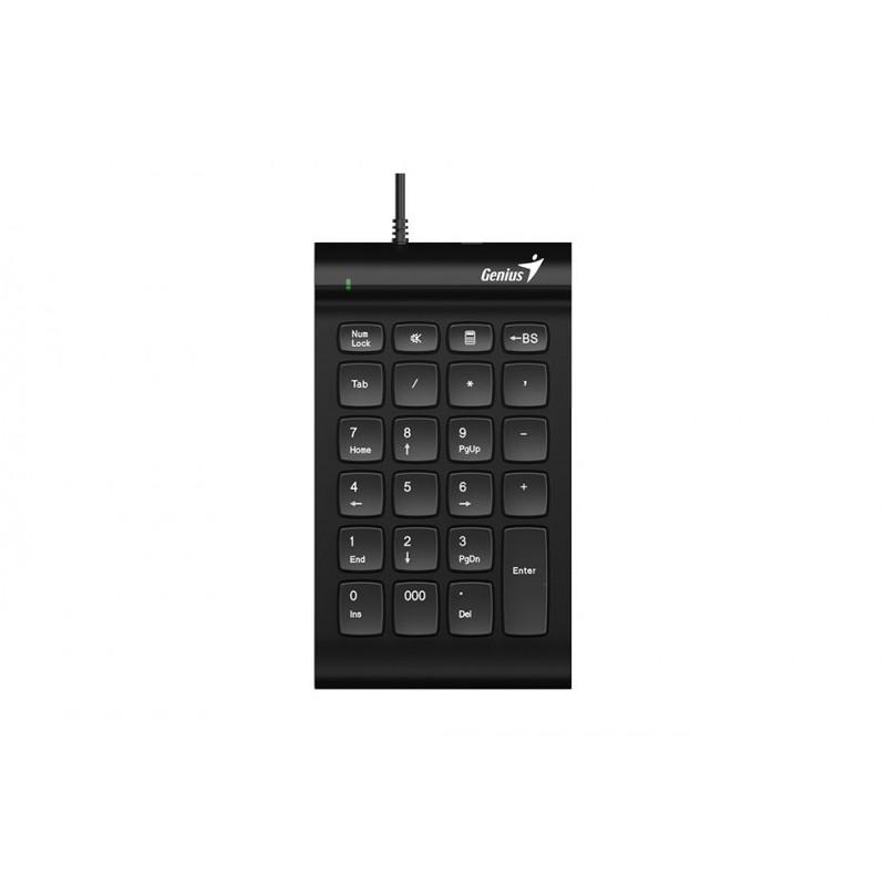 TECLADO GENIUS NUMERICO i130 USB NEGRO