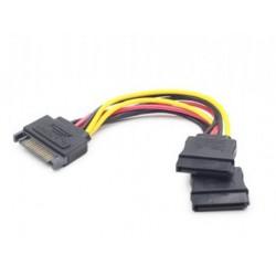Gembird CC-SATAM2F-01 0.15m SATA SATA Multicolor cable de SATA