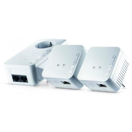 POWERLINE WIFI DEVOLO DLAN 550 PLC NETWORK KIT 3 UDS