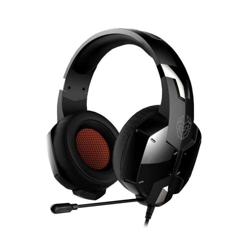 NOX Kopa Binaural Diadema Negro auricular con micrófono
