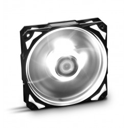VENTILADOR CAJA NOX H-FAN LED 120MM NEGRO LED BLANCO