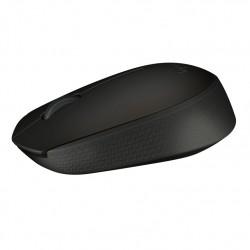 Logitech B170 RF inalámbrico Óptico Ambidextro Negro ratón