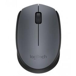 Logitech M170 RF inalámbrico Óptico 1000DPI Ambidextro Negro, Gris ratón