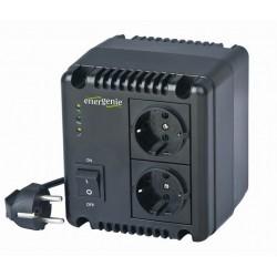 Gembird EG-AVR-1001 1000VA Compacto Negro sistema de alimentación ininterrumpida (UPS)