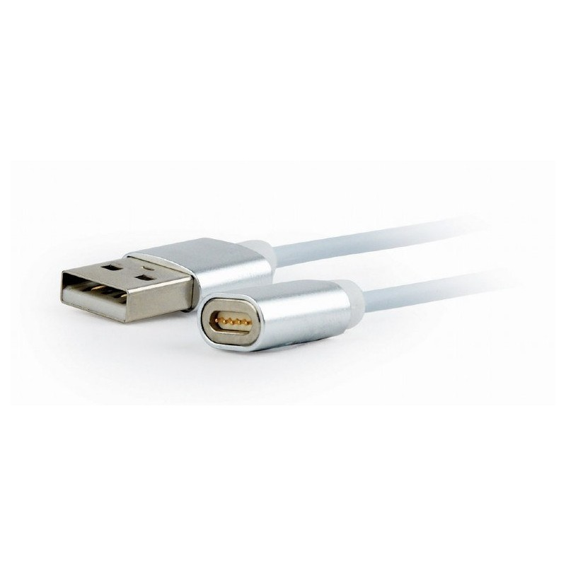 CABLE USB GEMBIRD USB 2.0 A MICRO USB/LIGHTNING/TIPO C 1M  MAGNETICO