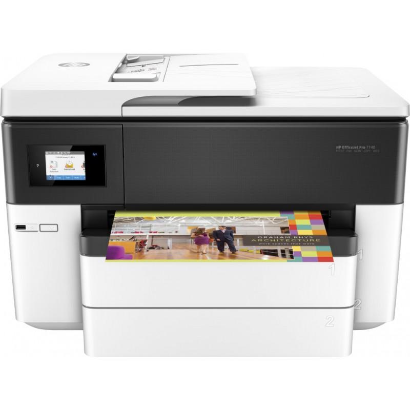 HP OfficeJet Pro 7740 Inyección de tinta térmica 22 ppm 4800 x 1200 DPI A3 Wifi