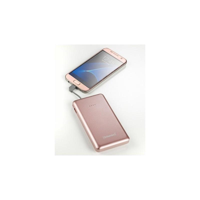 Intenso S10000 Polímero de litio 10000mAh Rosa batería externa