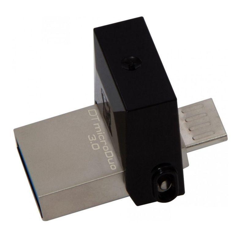 PENDRIVE KINGSTON DATATRAVELER MICRODUO CONECTORES USB Y MICROUSB COMPATIBLE OTG USB 3.0 16GB