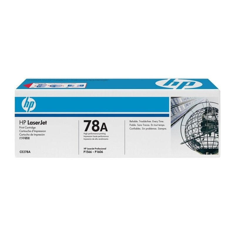 TONER HP NEGRO LASER 2100 PAGINAS PARA LA HP LASER P1566  P1606DN